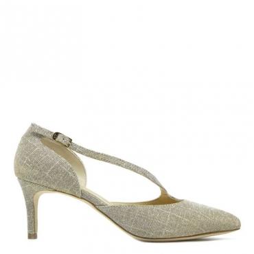 Dcollet Chanel in lurex oro laminato NUDE