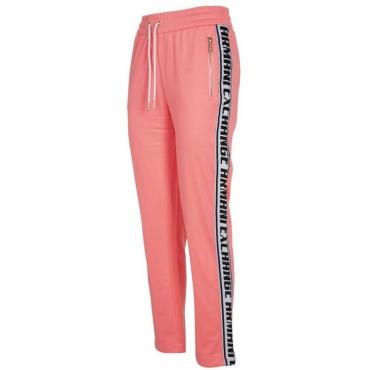 Pantaloni rosa shocking con bande ROSE QUARTZ
