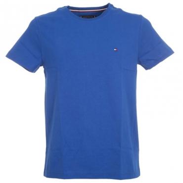 T-Shirt tinta unita in cotone organico C7DPHTHALOBL