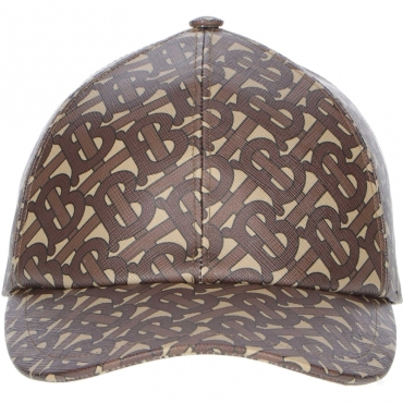 CAPPELLO BURBERRY MARRONE