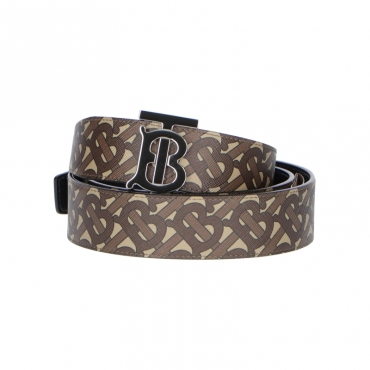 CINTURA BURBERRY MARRONE