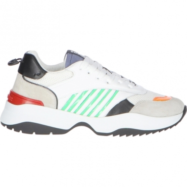 SNEAKERS D24 DSQUARED2 BIANCO