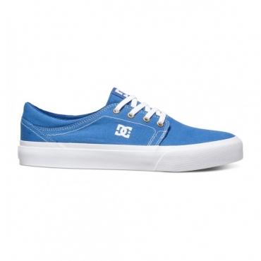 SCARPA BASSA DC SHOES TRASE TX Blue/White unico