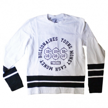 CASACCA YMCMB HOCKEY JERSEY D-SIGN White/Black unico