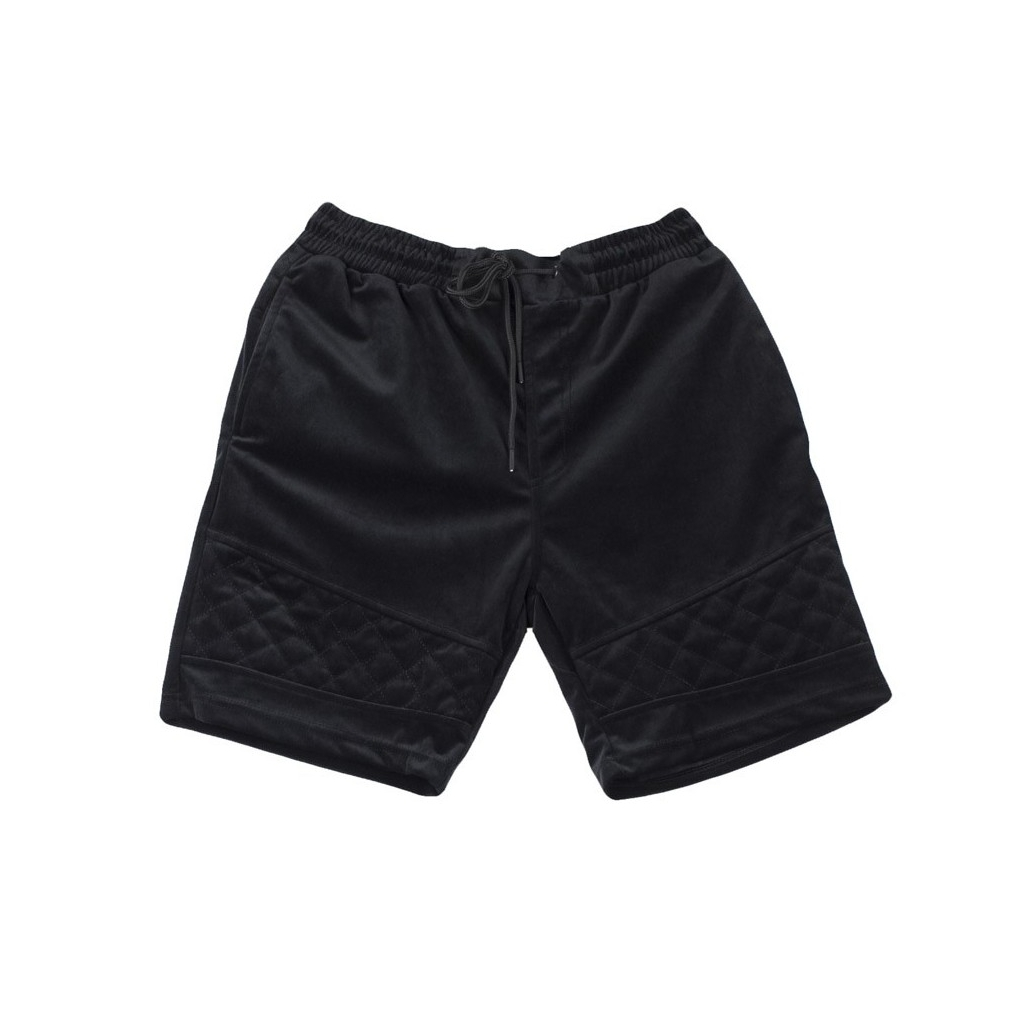 KURZE HOSE NEW AGE VELOUR SCHWARZ SHORTS