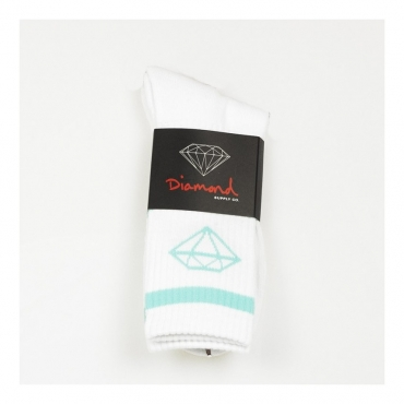 CALZE ROCK SPORT SOCKS WHITE/DIAMOND BLUE