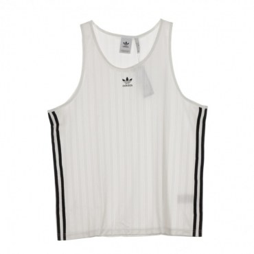CANOTTA FOOTBALL TANK WHITE/BLACK