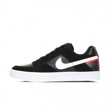 SCARPE SKATE SB DELTA FORCE VULC BLACK/WHITE/HABANERO RED