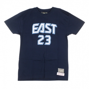 MAGLIETTA NBA NAME  NUMBER TEE NO23 LEBRON JAMES ALL STAR EAST 2009 NAVY/ORIGINAL TEAM COLORS