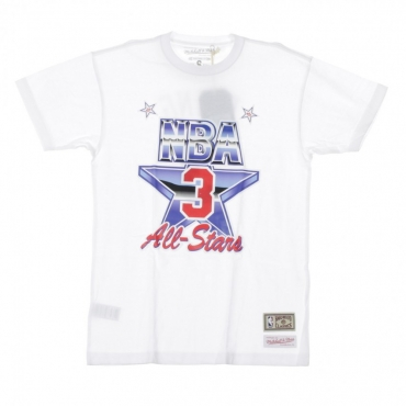 MAGLIETTA NBA NAME  NUMBER TEE NO3 PATRICK EWING ALL STAR EST 1991 WHITE/ORIGINAL TEAM COLORS