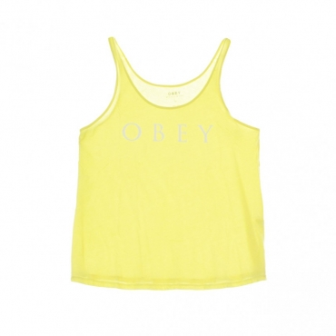 CANOTTA NOVEL OBEY TANK YELLOW