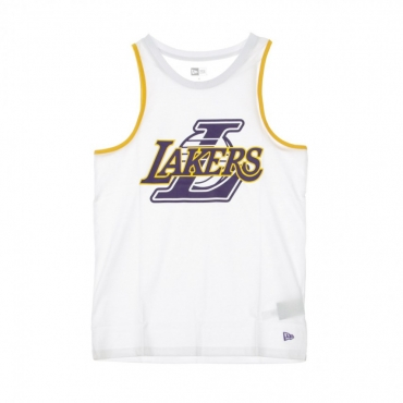 CANOTTA NBA DOUBLE LOGO TANK LOSLAK WHITE/ORIGINAL TEAM COLORS