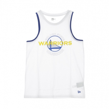 CANOTTA NBA DOUBLE LOGO TANK GOLWAR WHITE/ORIGINAL TEAM COLORS