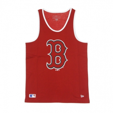 CANOTTA MLB LOGO TANK BOSRED SCARLET/ORIGINAL TEAM COLORS