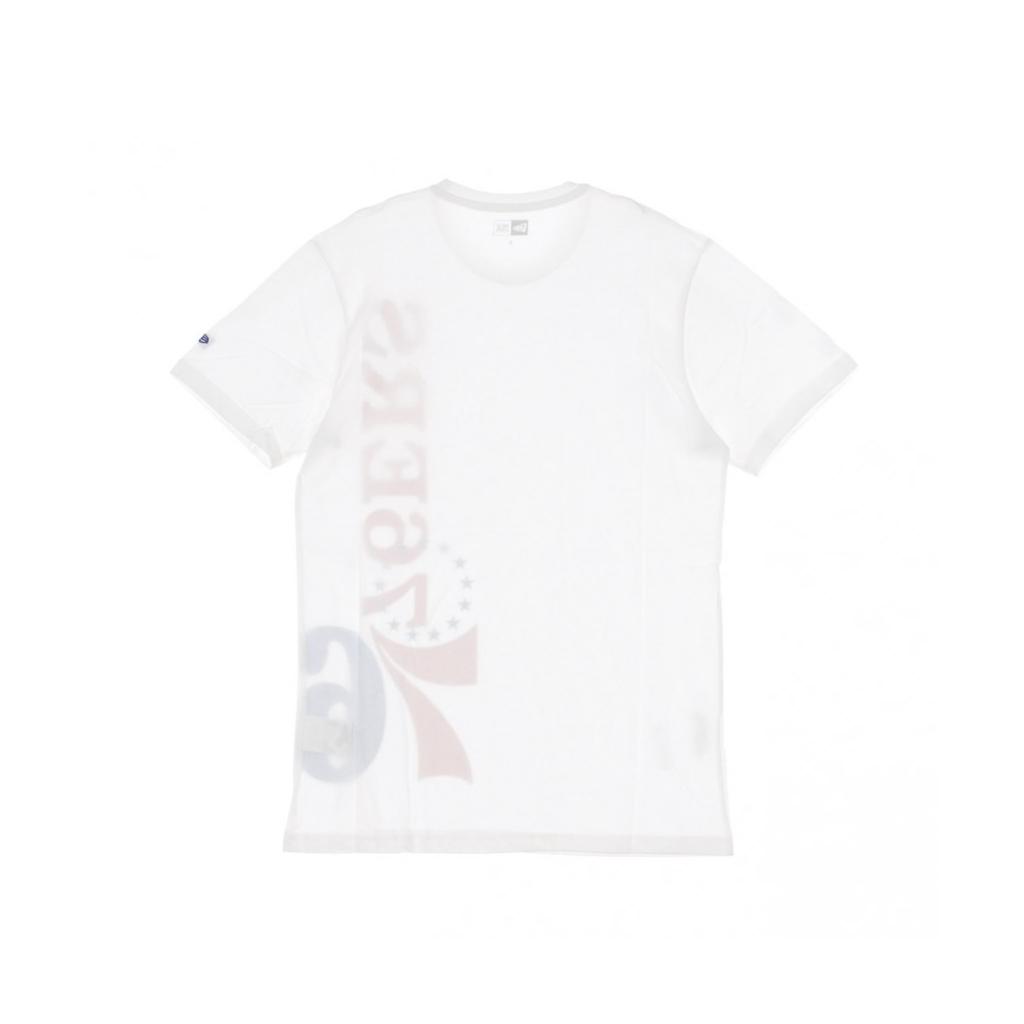 MAGLIETTA NBA TEAM TEE PHI76E WHITE/ORIGINAL TEAM COLORS