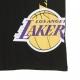MAGLIETTA NBA TEAM TEE LOSLAK BLACK/ORIGINAL TEAM COLORS