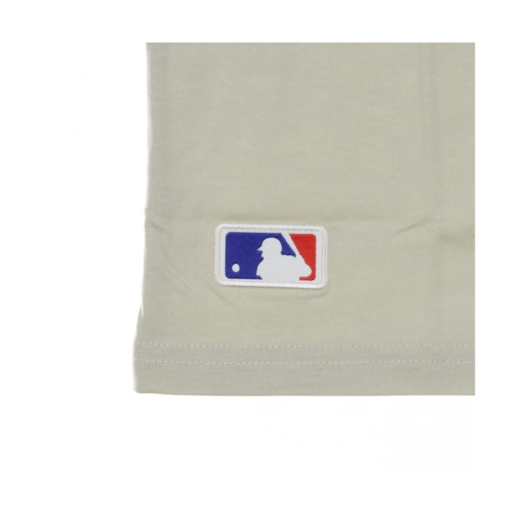 MAGLIETTA MLB SEASONAL TEAM LOGO TEE NEYYAN STONE