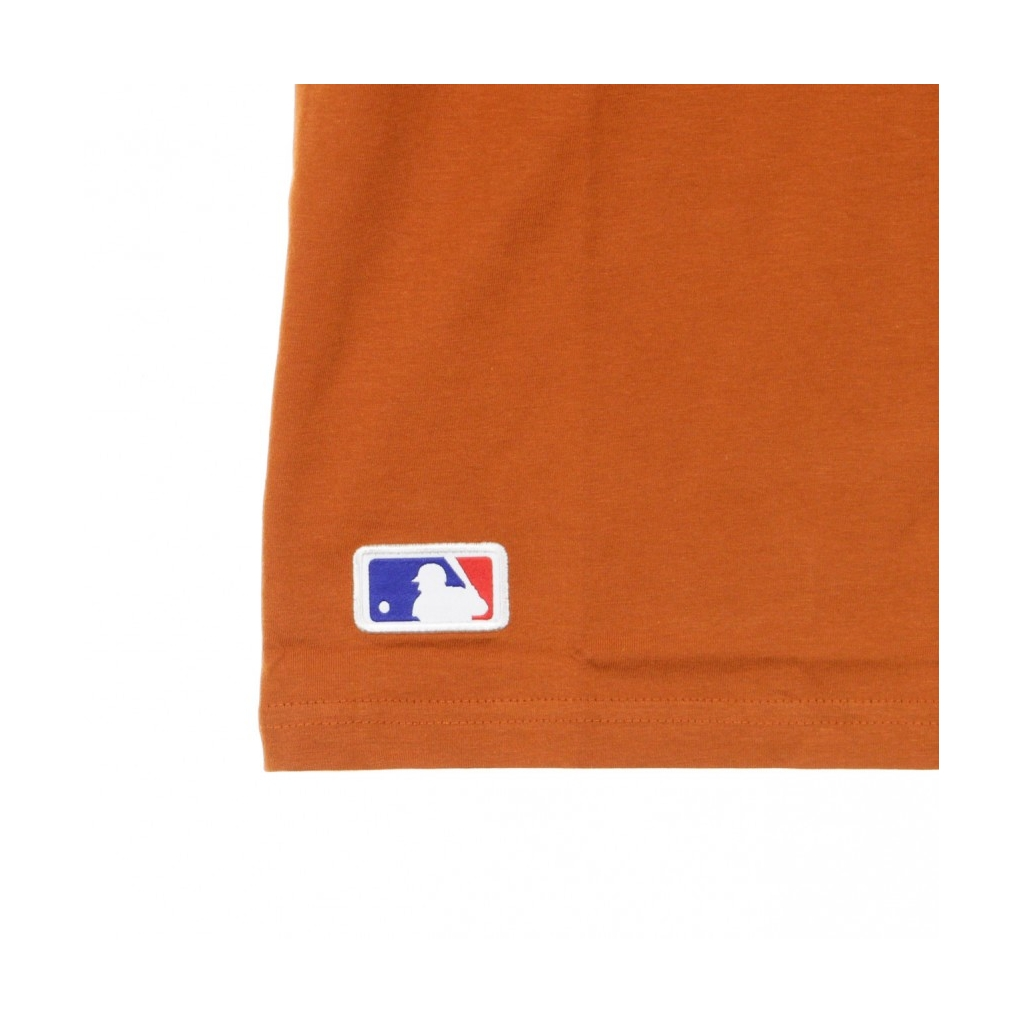 MAGLIETTA MLB SEASONAL TEAM LOGO TEE NEYYAN RUST