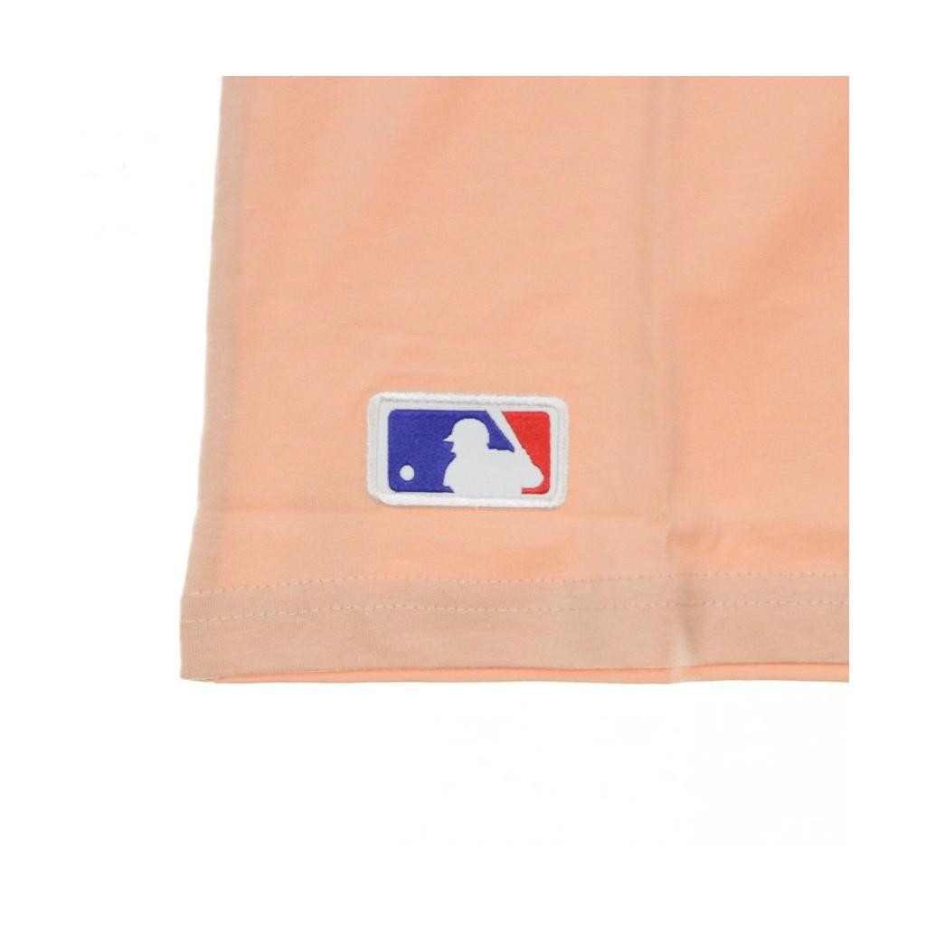 MAGLIETTA MLB SEASONAL TEAM LOGO TEE LOSDOD PINK/BLACK