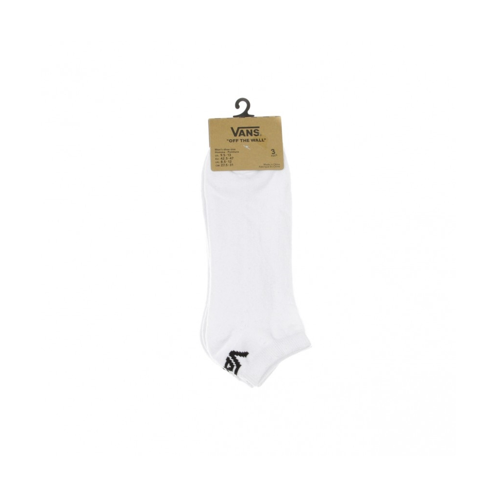 CALZE CLASSIC LOW WHITE
