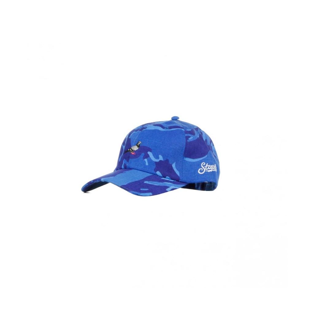 CAPPELLO VISIERA CURVA DESTRUTTURATO DAD CAP BLUE