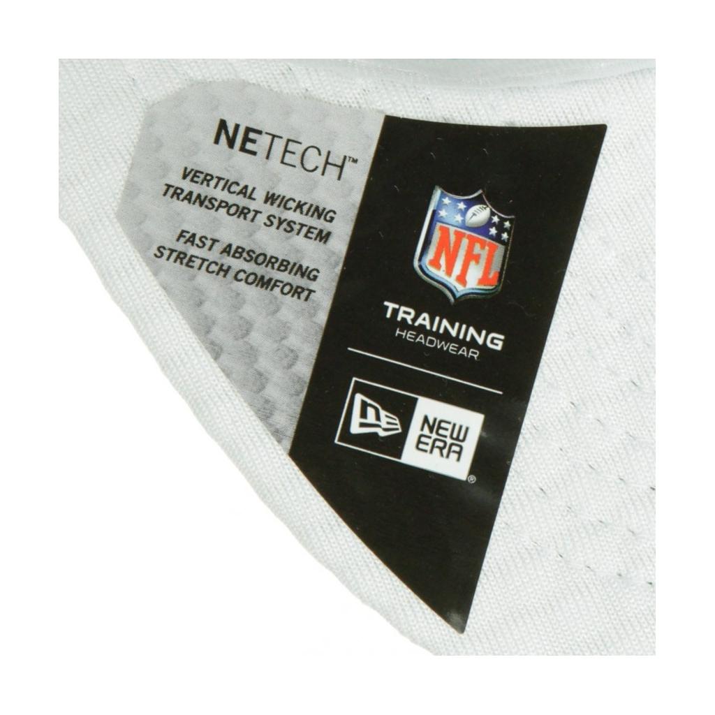 CAPPELLO VISIERA CURVA AGGIUSTABILE 920 OFFICIAL NFL 19 TRAINING CAMP PITSTE WHITE/ORIGINAL TEAM COLORS