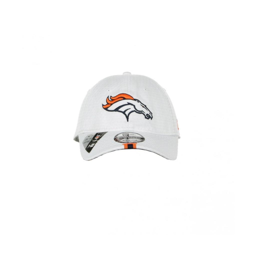 CAPPELLO VISIERA CURVA AGGIUSTABILE 920 OFFICIAL NFL 19 TRAINING CAMP DENBRO WHITE/ORIGINAL TEAM COLORS