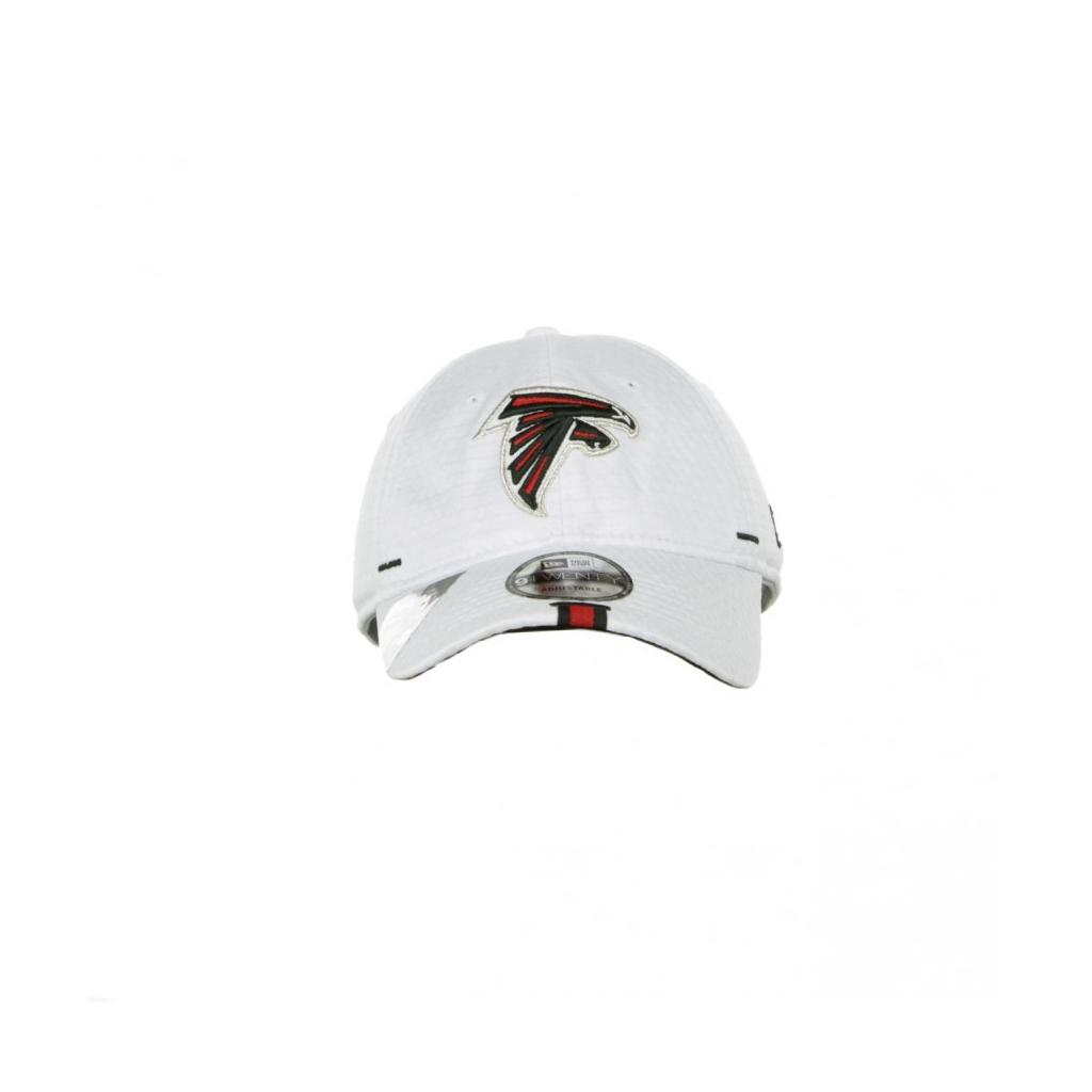 CAPPELLO VISIERA CURVA AGGIUSTABILE 920 OFFICIAL NFL 19 TRAINING CAMP ATLFAL WHITE/ORIGINAL TEAM COLORS