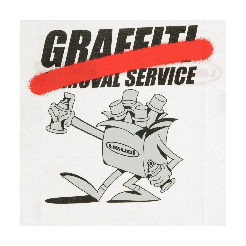 MAGLIETTA GRAFFITI REMOVAL SERVICE WHITE