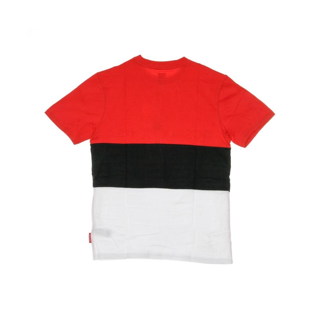 MAGLIETTA GLENFERRIE RED/BLACK/WHITE
