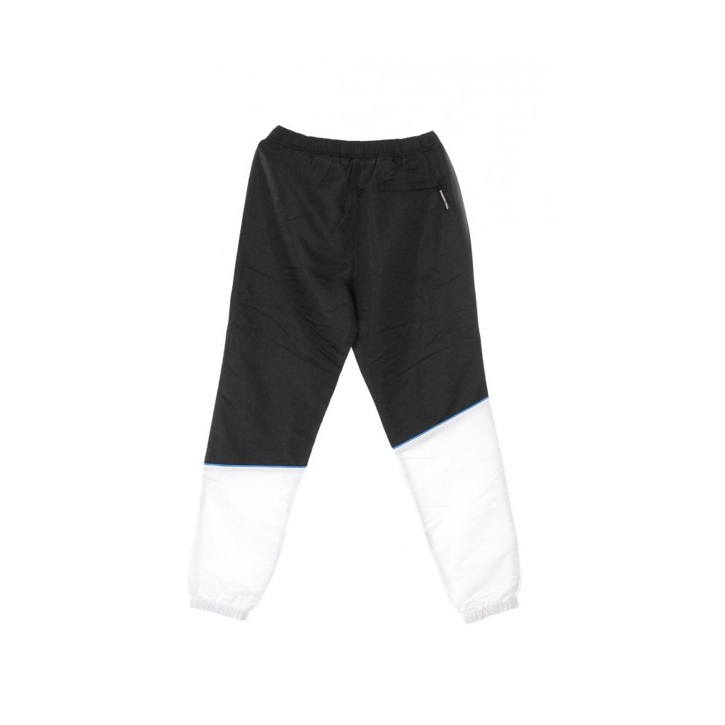 PANTALONE TUTA TIPTON PANT BLACK/WHITE/PURPLE