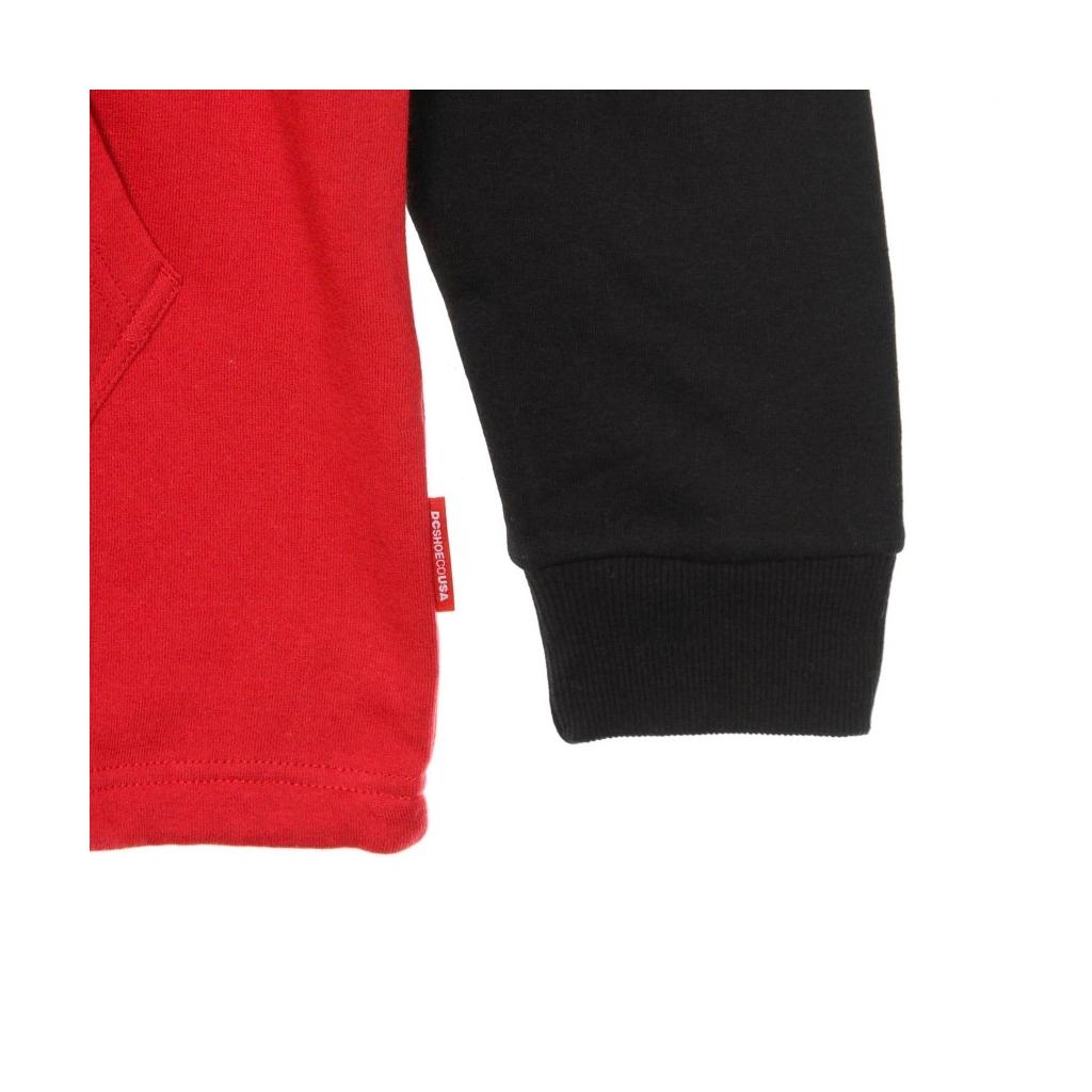 FELPA CAPPUCCIO HAMBLEDON PH WHITE/BLACK/RED