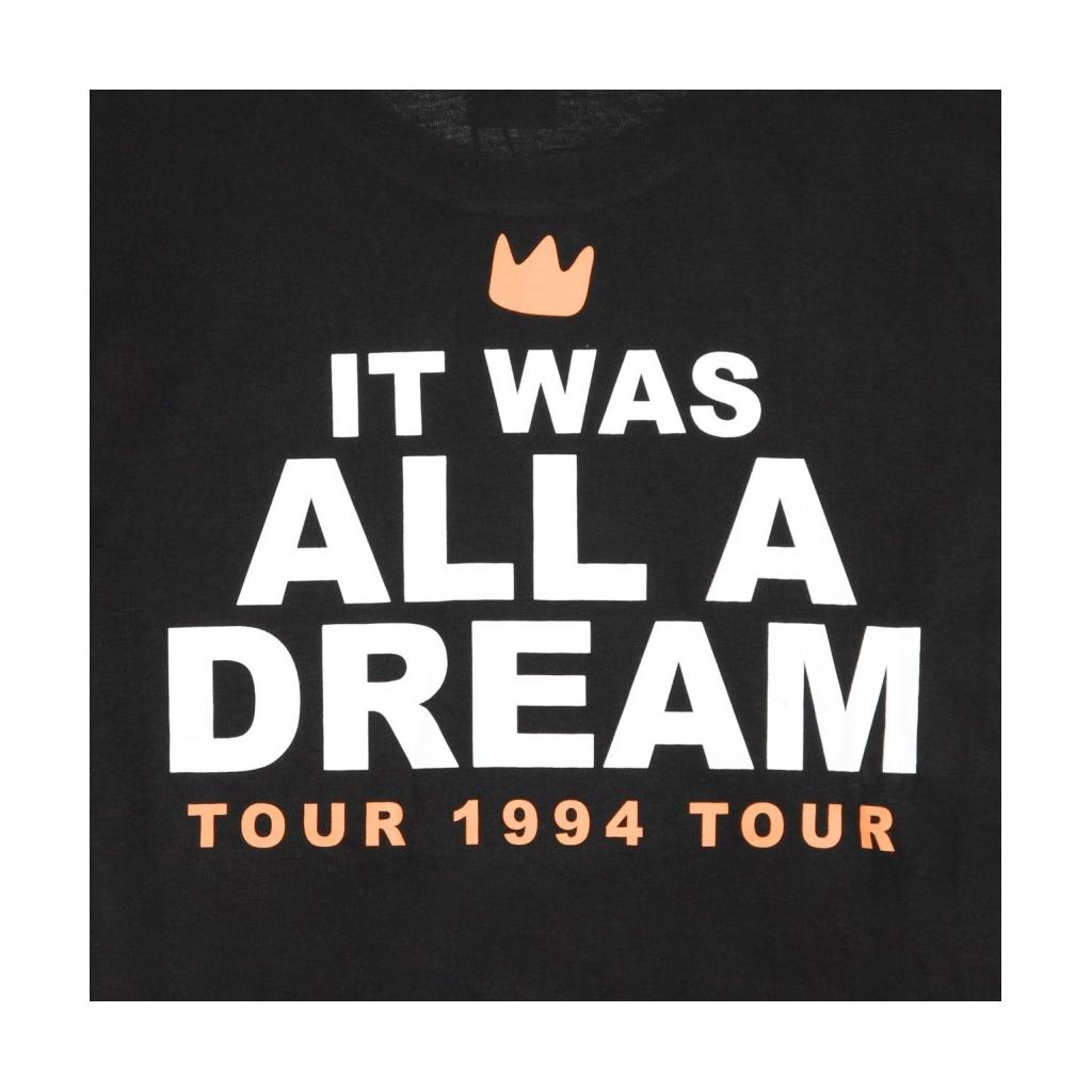 MAGLIETTA DREAM TOUR TEE BLACK
