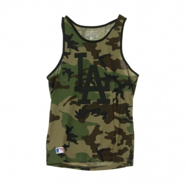 CANOTTA TEAM APPAREL LOGO TANK LOSDOD WOODLAND CAMO/BLACK