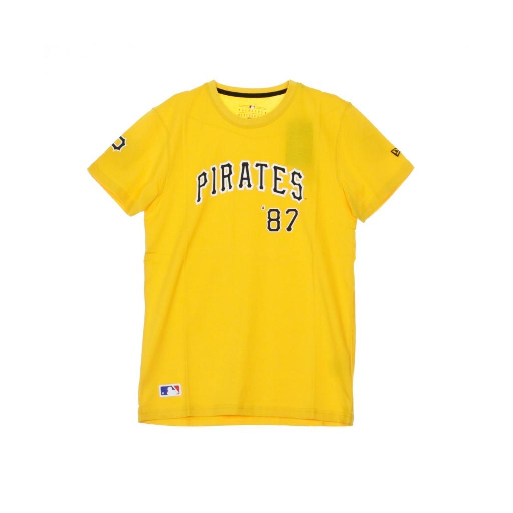 MAGLIETTA MLB SCRIPT TEE PITPIR AUTHENTIC GOLD/ORIGINAL TEAM COLORS
