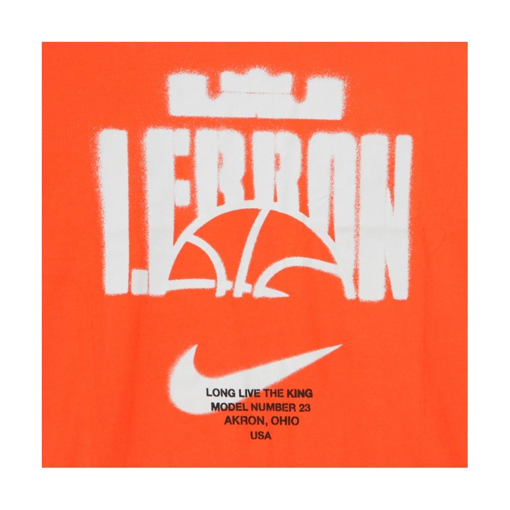 MAGLIETTA LEBRON DRY TEE BALL TEAM ORANGE/TEAM ORANGE