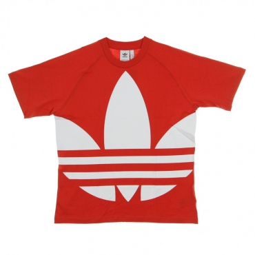 MAGLIETTA BIG TREFOIL TEE LUSH RED
