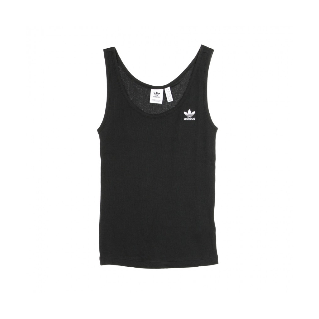 TOP TANK TOP BLACK/WHITE