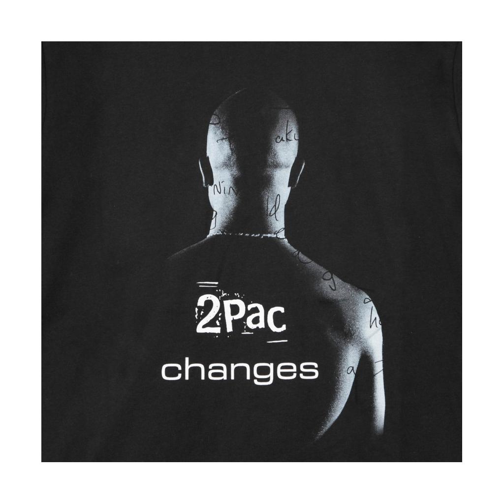 MAGLIETTA 2PAC CHANGES BLACK