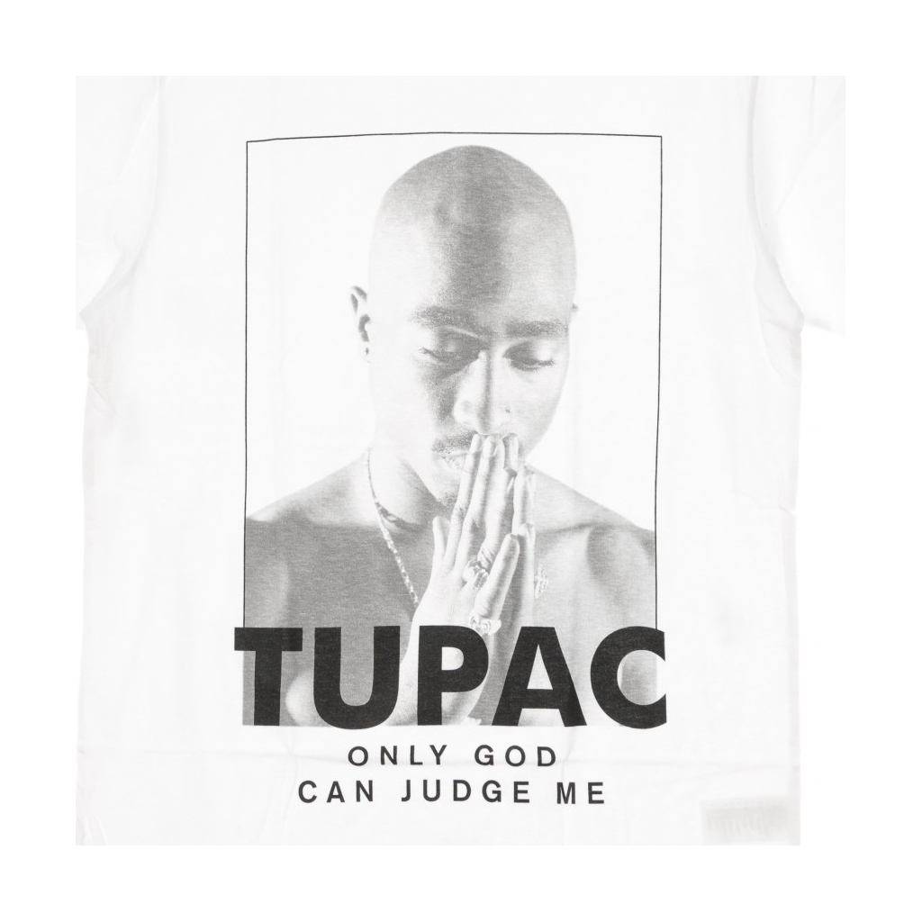 MAGLIETTA 2PAC PRAYER WHITE