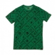 MAGLIETTA NBA ALL OVER PRINT TEE ALL TEAMS OTC KELLY GREEN