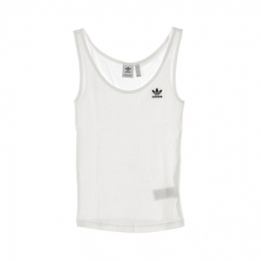 CANOTTA TANK TOP WHITE/BLACK
