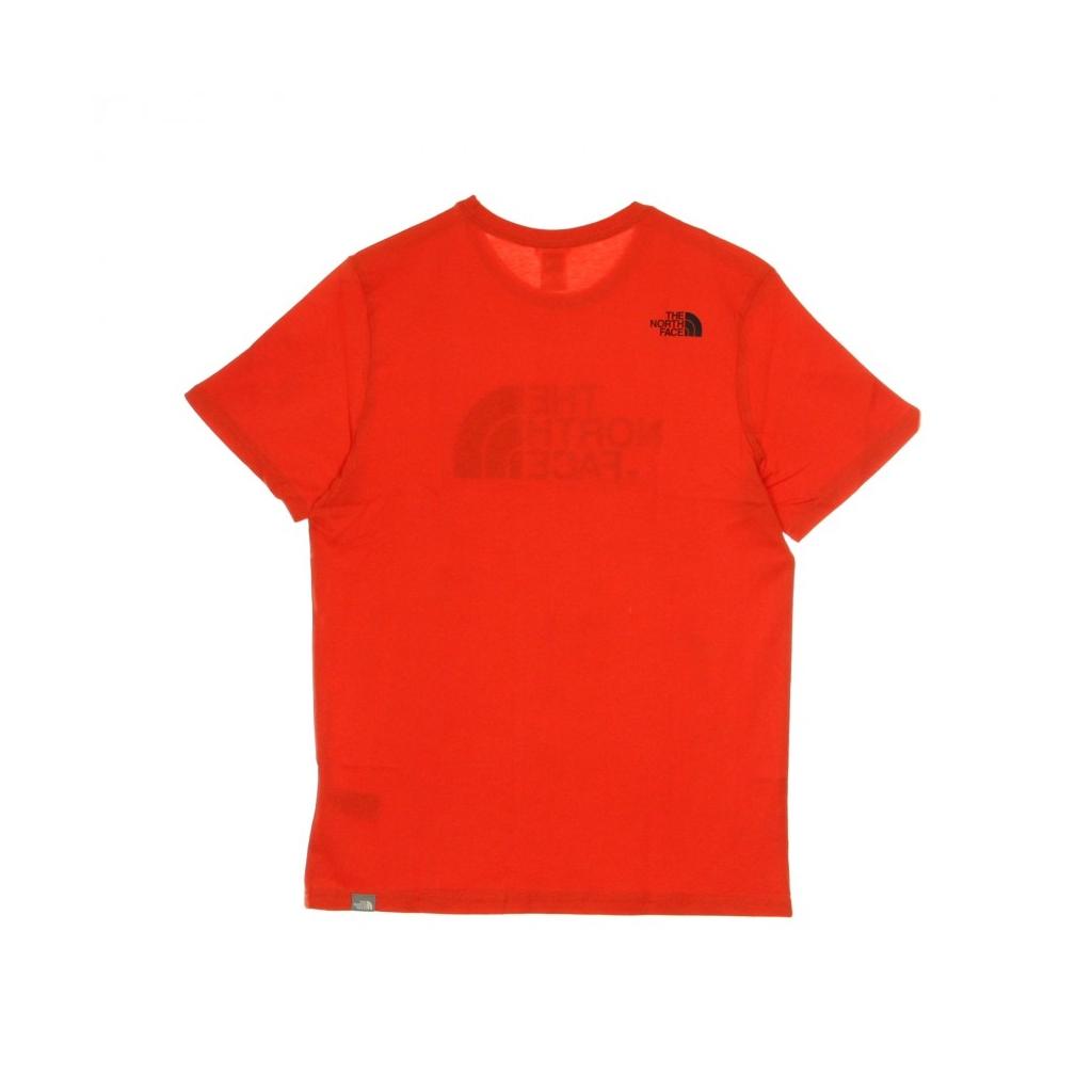 MAGLIETTA EASY TEE FIRE RED/BLACK