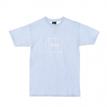 MAGLIETTA ESSENTIALS BOX LOGO GREEK BLU