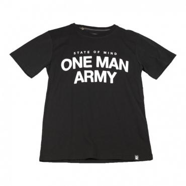 MAGLIETTA ONE MAN ARMY TEE NERO