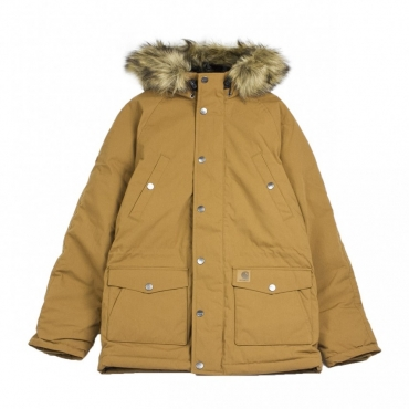 PARKA TRAPPER PARKA HAMILTON BROWN/BLACK