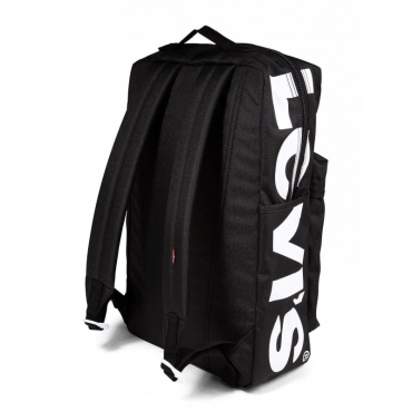 Zaino L Pack nero con logo 059BLACKREGU