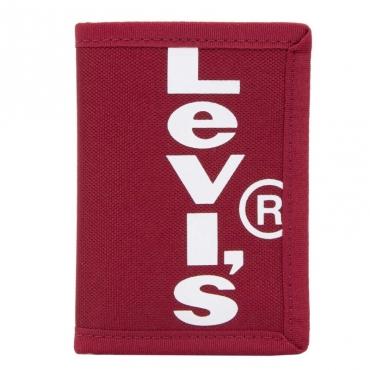 Portafoglio rosso con logo 088REDBRILLI