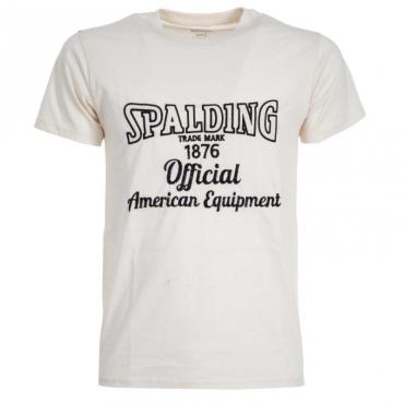 T-Shirt con logo ricamato 02NATURAL