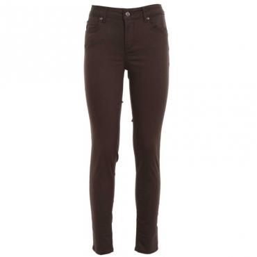 Pantalone skinny a vita alta X0192CORN